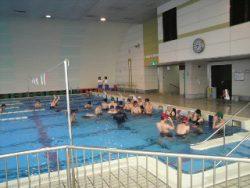 中学校水泳授業