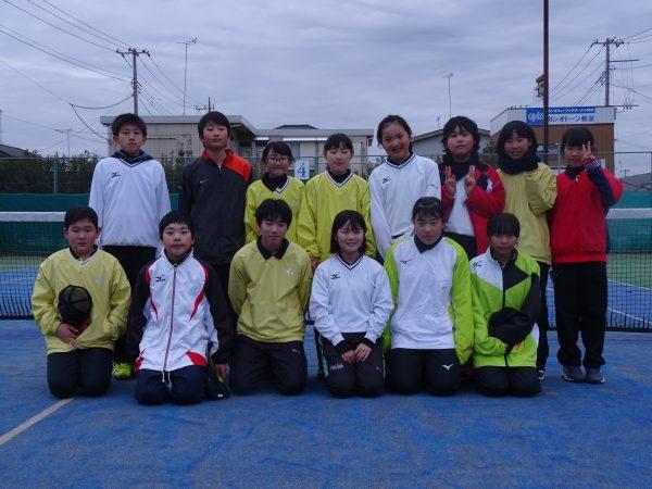 潮来ソフトテニススポーツ少年団(高学年)
